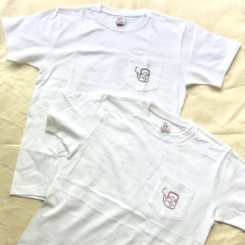 【期間限定セール】TEABOY  ポケットTeaシャツ 6.2oz  フロント&バックプリント