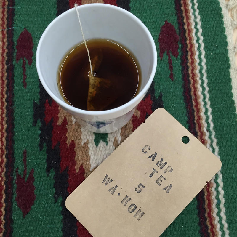 CAMP TEA No.5 『WA KOUCHA』和紅茶ティーバッグ