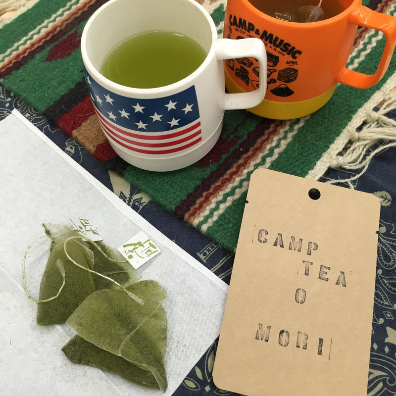 CAMP TEA No.0 『MORI』緑茶ティーバッグ