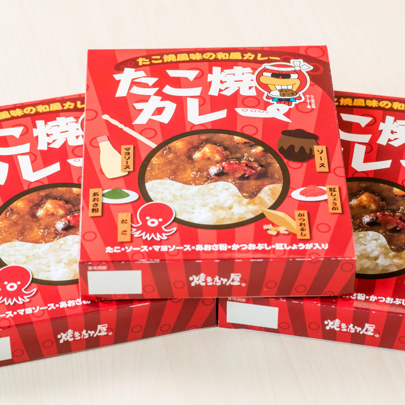 【3個セット】焼きたて屋 たこ焼風味の和風カレー
