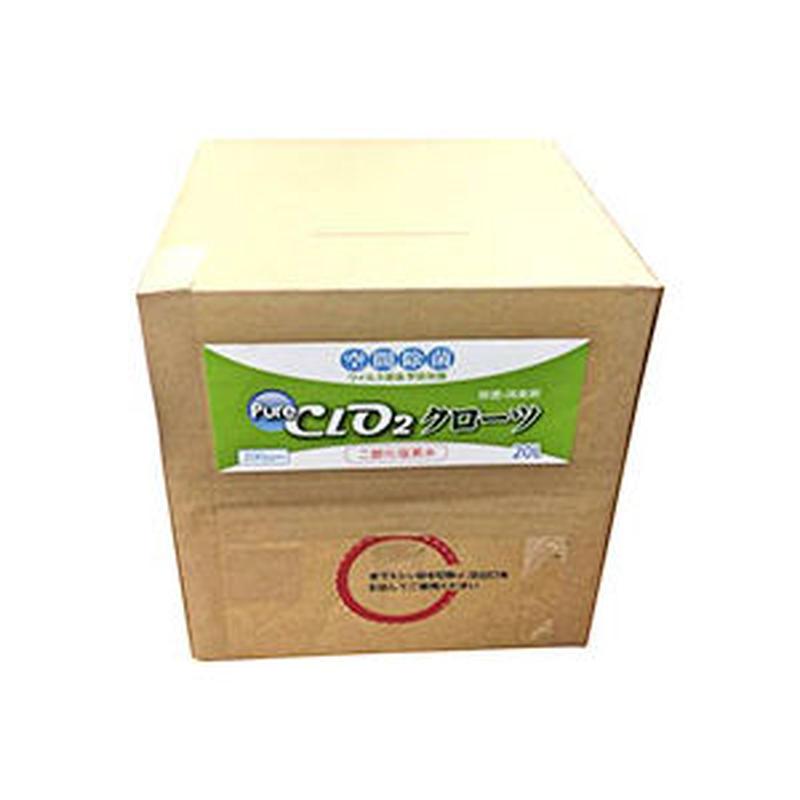 二酸化塩素ジェル クローツ 業務用詰替20L