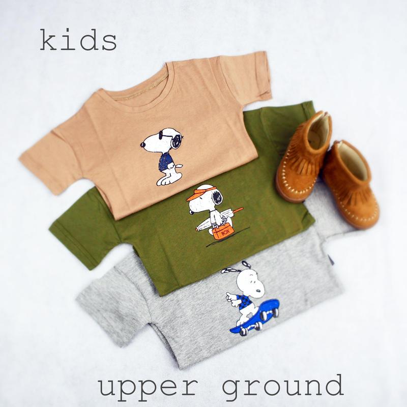 スヌーピー Tシャツ kids