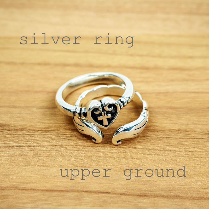 silver ring(ハート形)
