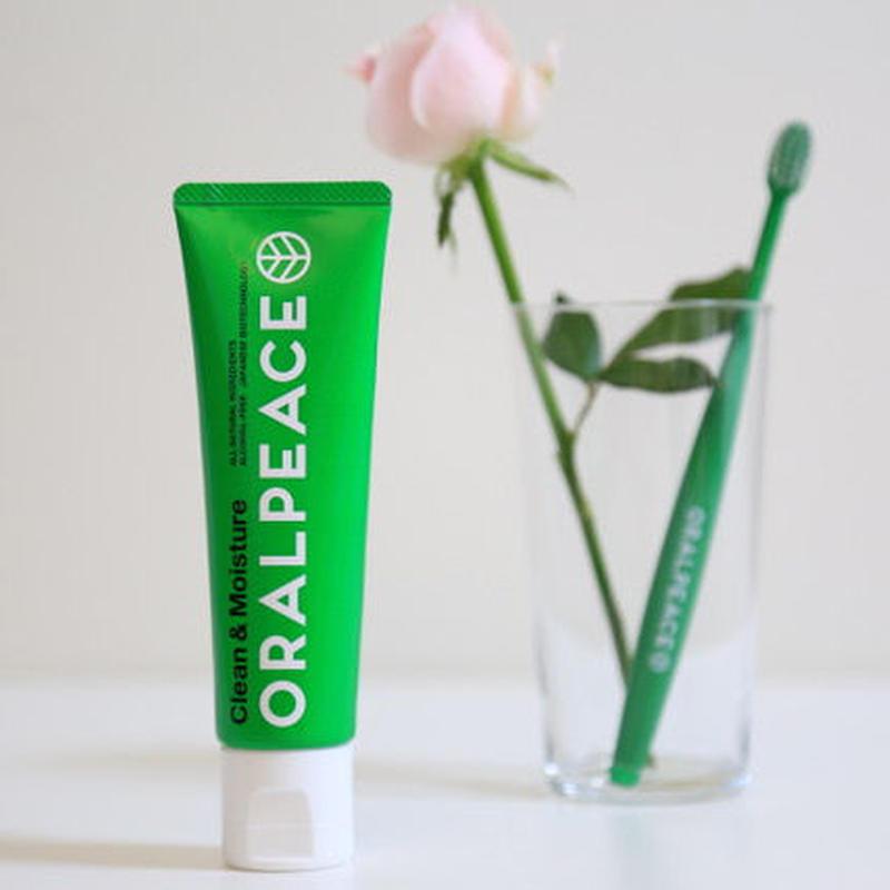 【NEW!! 効果アップ、パッケージ変更、粘性改善、増量、より美味しく 〜】オーラルピース クリーン&モイスチュア(ジェル) 80g ネオナイシン-e®︎配合 低刺激の口腔ケア健康ジェル