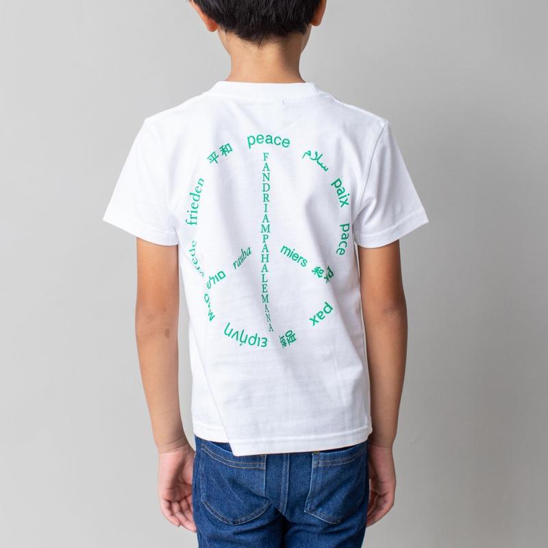 数量限定!! 寄付付き  オーラルピース  記念デザインロゴTシャツ【PEACEデザイン】Kidsサイズ(120cm・150cm)オーラルピースファンはもちろん、Tシャツハンターも是非!!