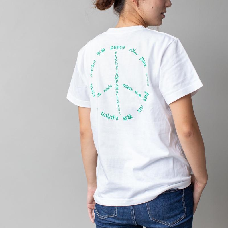 数量限定!! 寄付付き  オーラルピース  記念デザインロゴTシャツ【PEACEデザイン】大人サイズ(S・M・L・XL)オーラルピースファンはもちろん、Tシャツハンターも是非!!