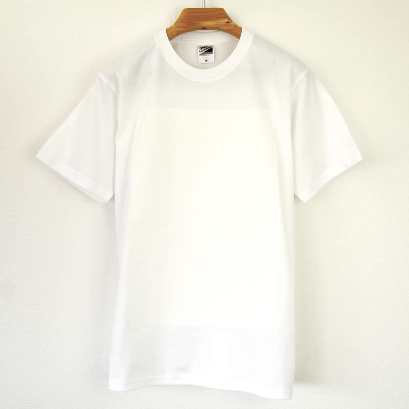 白角図Tシャツ_白(スタンダードシルエット /シルクスクリーンプリント)