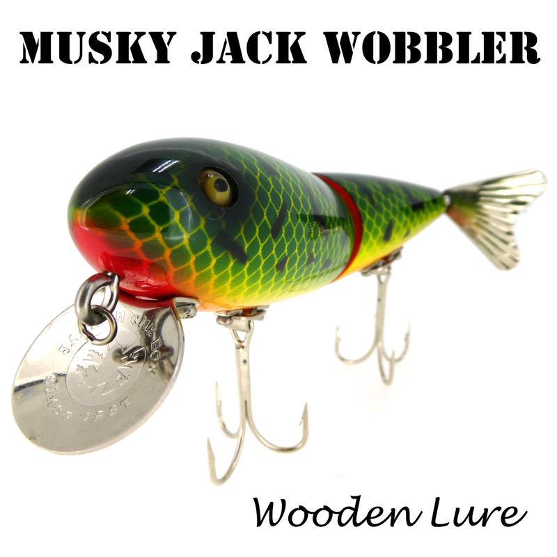 MUSKY JACK WOBBLER (マスキージャックウォブラー)