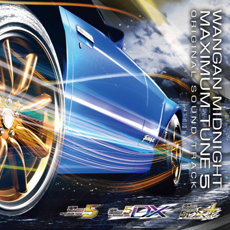 Wangan Midnight MAXIMUM TUNE 5 Original Sound Track 2CD