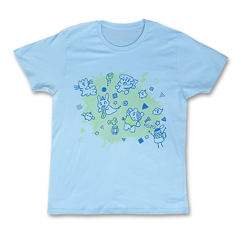 "sasakure.UK - ""Atama Bikkuri""  T-shirt(Sherbet blue  Men's)"