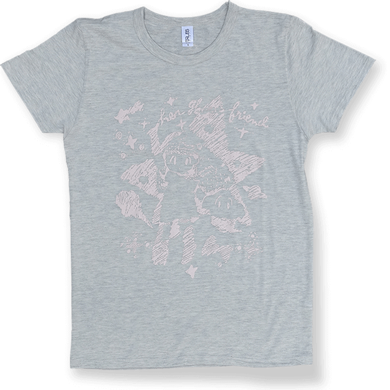 Her Ghost Friend - Cosmo T-shirt (Oatmeal)