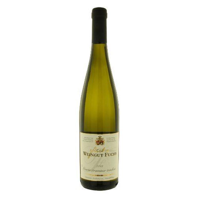 """ドイツの白ワイン 華やかな香り、柔らかな果実味 「ゲヴュルツトラミネール」 2013年、750ml、ラインヘッセン""""Gewürztraminer trocken"""""""