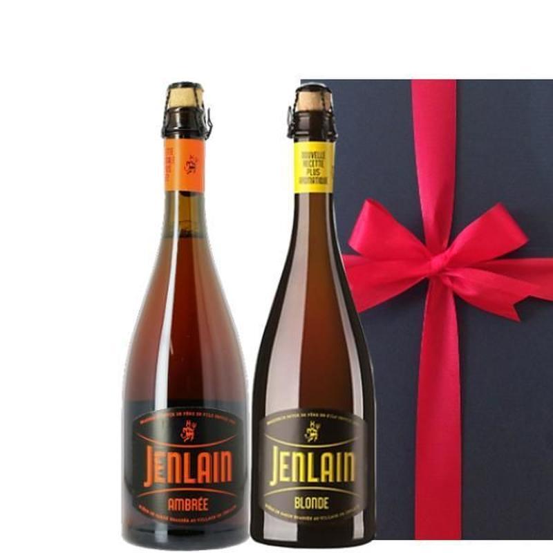 【送料無料】ビールギフト フランスのクラフトビール詰め合わせ ブラッセリー・ジャンラン ブロンドタイプ アンバータイプ(琥珀ビール) 750ml×2本セット