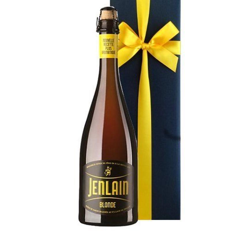 フランス 地ビール 1本 ギフト ジャンラン ブロンド ビエール・ド・ギャルド 750ml コルク栓 箱入り リボン包装付