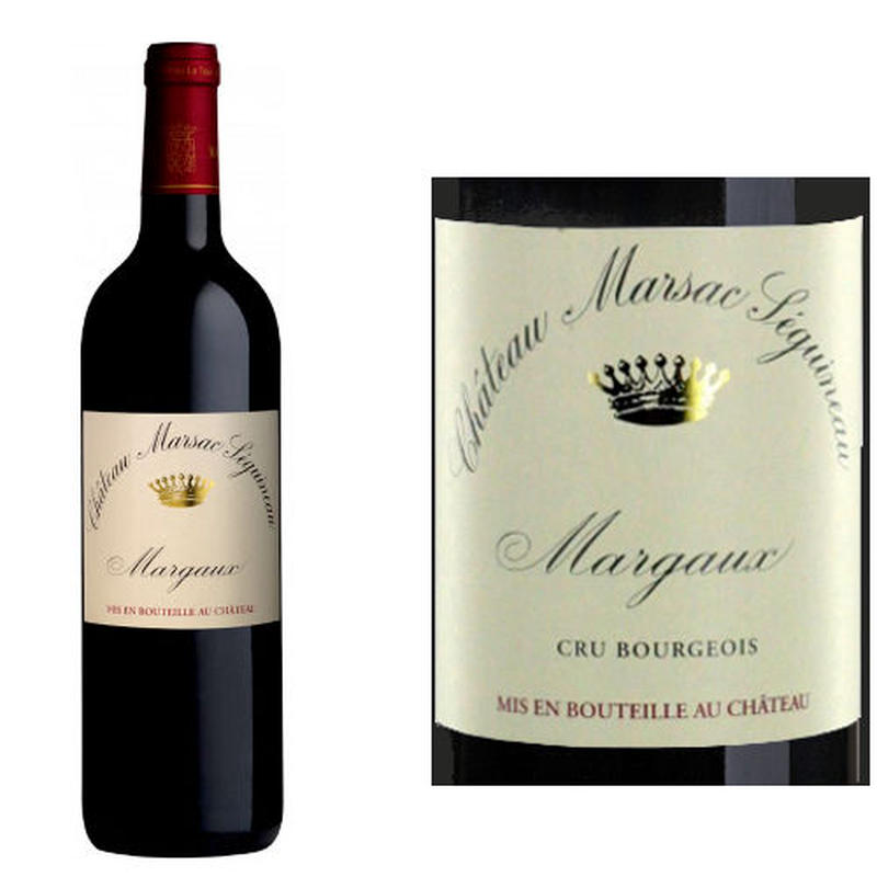 フランス、ボルドー赤ワイン、メドック、アペラシオン マルゴー 「シャトー・マルサック セギノー」 2011年、750ml
