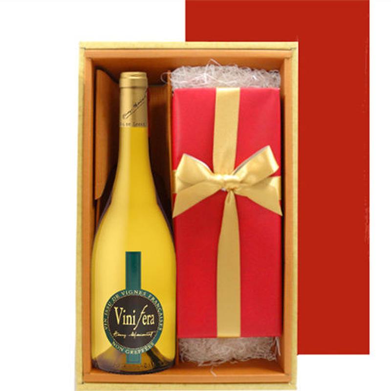 ワインとスイーツのギフト 辛口ワインとドイツのオレンジパウンドケーキ トゥーレーヌ・ヴィニフェラ・シュナン・ブラン750ml