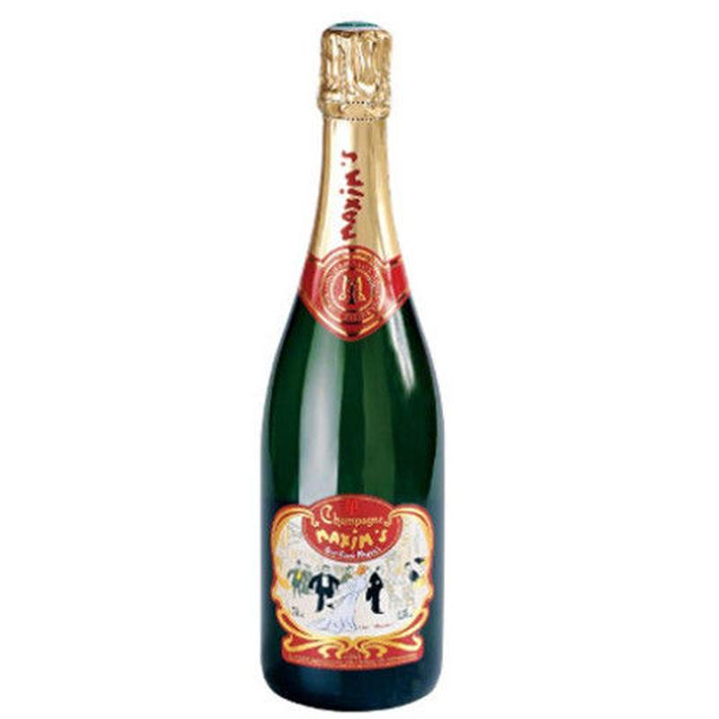 フランス シャンパン「マキシム・ド・パリ・ブリュット」 750ml
