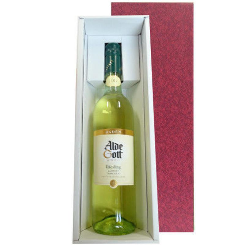 【送料無料】ワインギフト ドイツ 白ワイン リースリング 辛口 バーデン地方 2014年 750ml ギフト箱入り