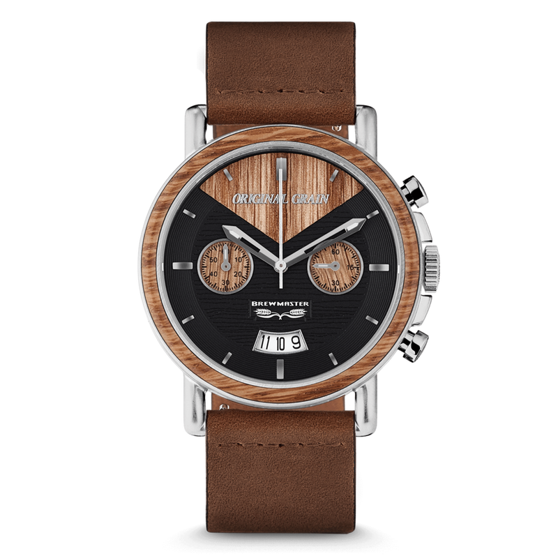The Alterra Chronograph /The BREWMASTER Collection /Leather Band