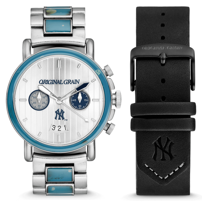 NEW YORK YANKEES™ 44MM【1923 YANKEES™ HOME CHRONO】- RECLAIMED SERIES/LIMITED EDITION  -