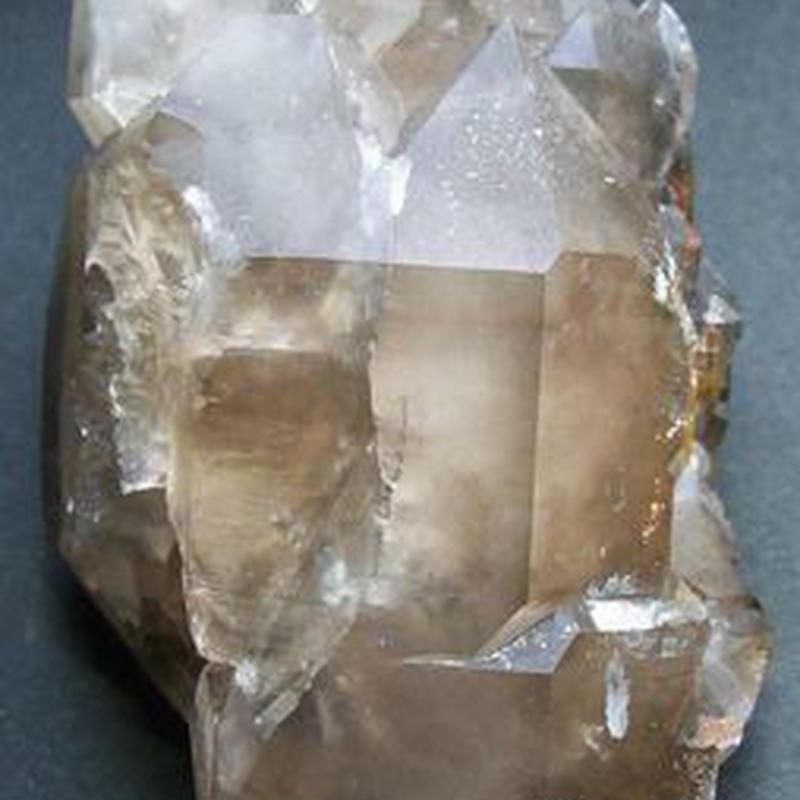 NO3 ジャガレー水晶(エレスチャル 集合意識)長さ100mm  両剣 ダブルターミネーター