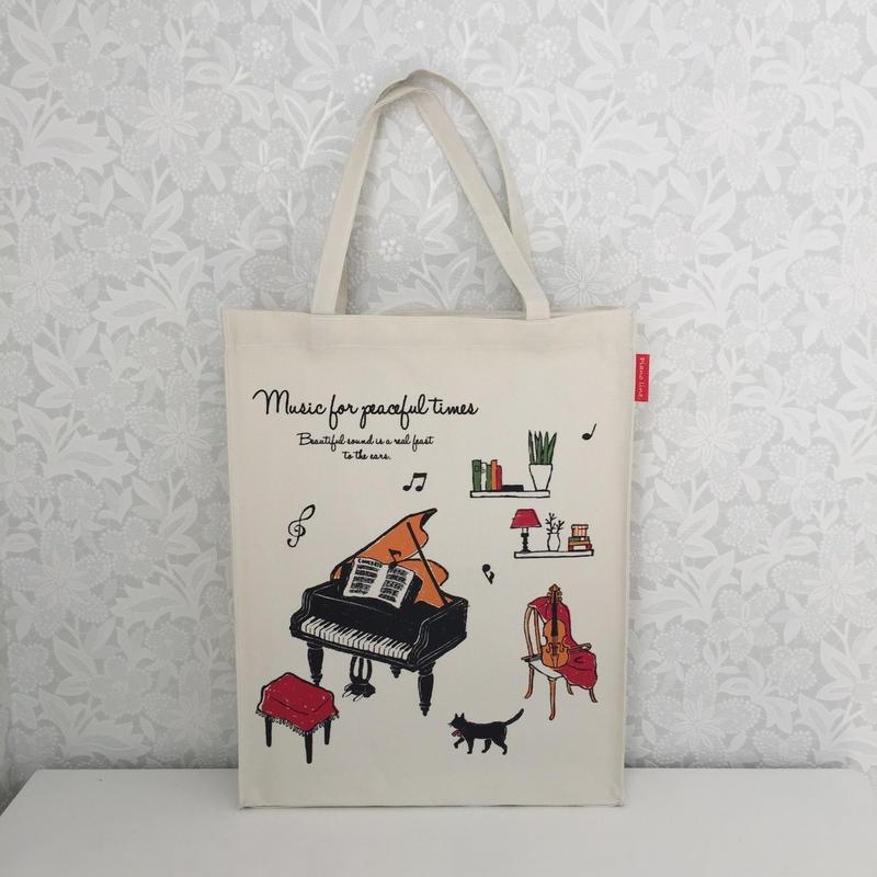 Piano line  縦型トート(アラモード)