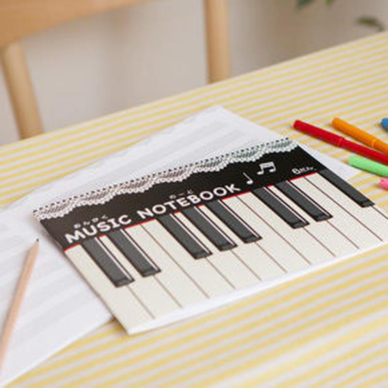 [Piano line] 五線譜ノート
