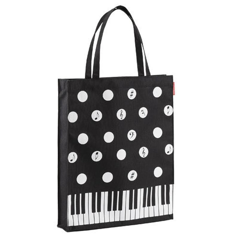 Piano line 縦型トート(水玉)