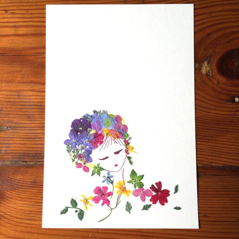 少女c (PostCard)