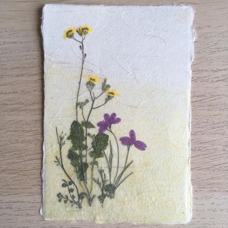 和紙はがきM03 (Post Card)