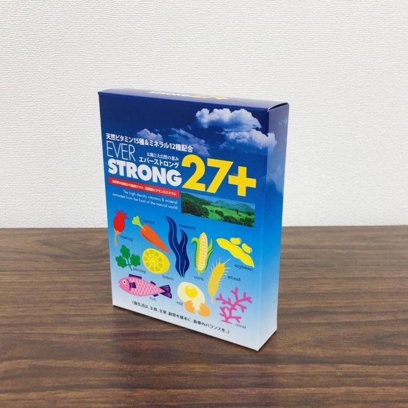 ES27+(エバーストロング27+):150粒入り