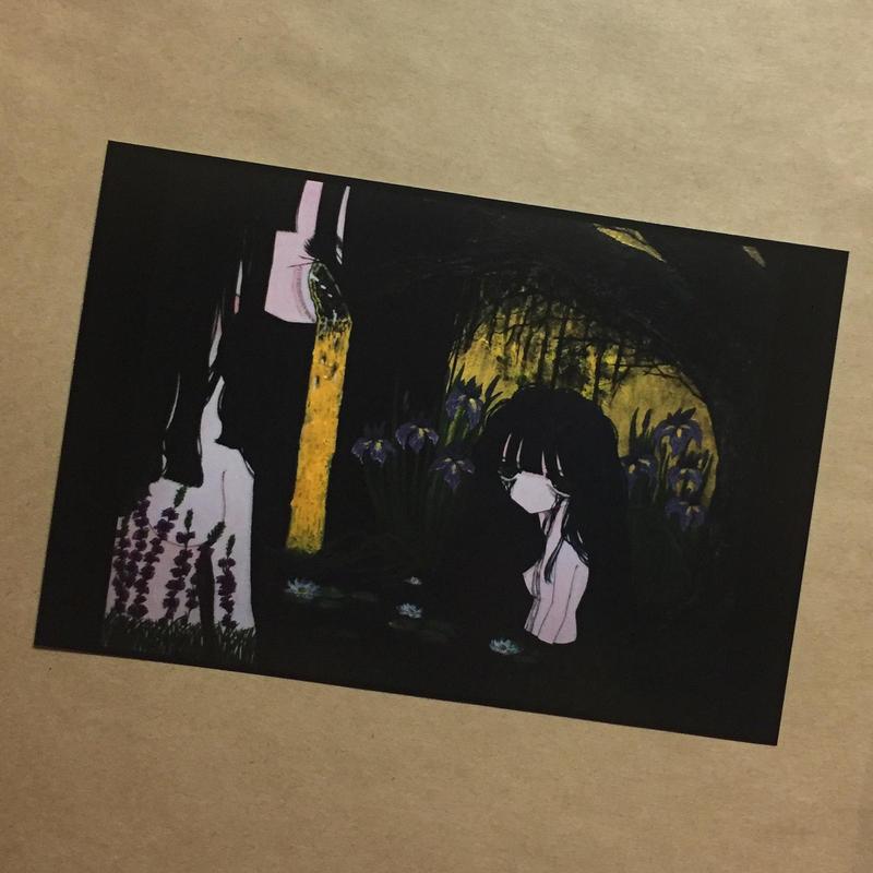 ポストカード「深い泥の底」