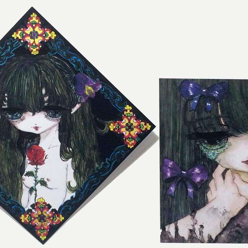 2枚組ポストカード