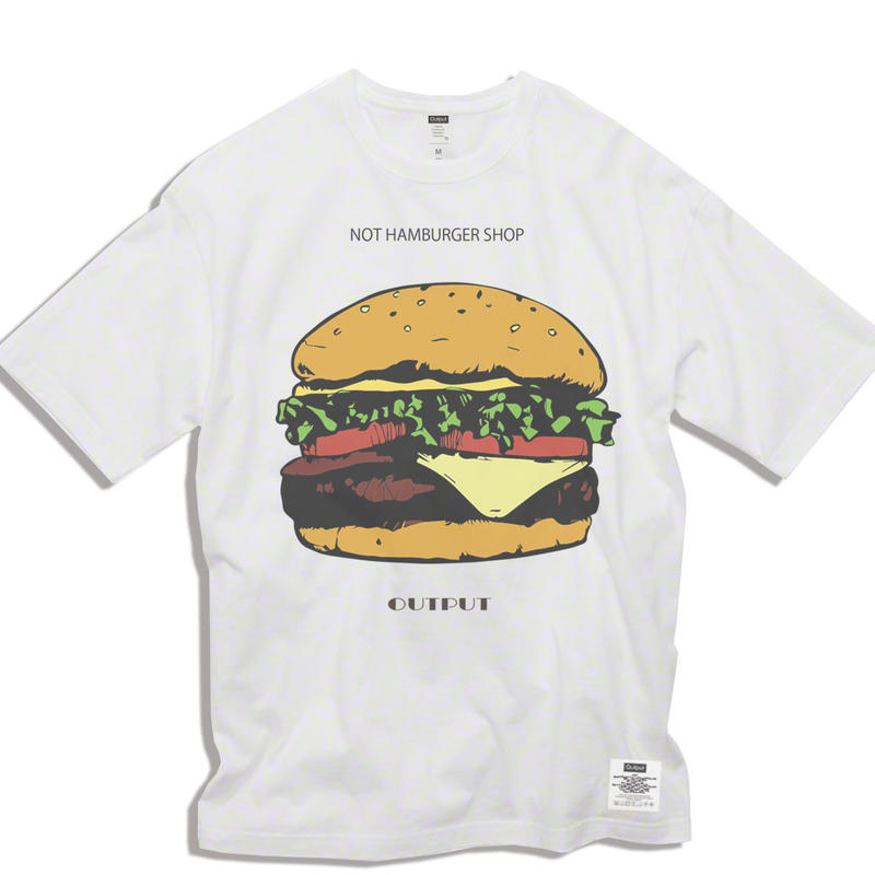 "【予約商品】OPPT68 Big Silhouette Graphic T-Shirt  ""NOT HAMBURGER SHOP"""