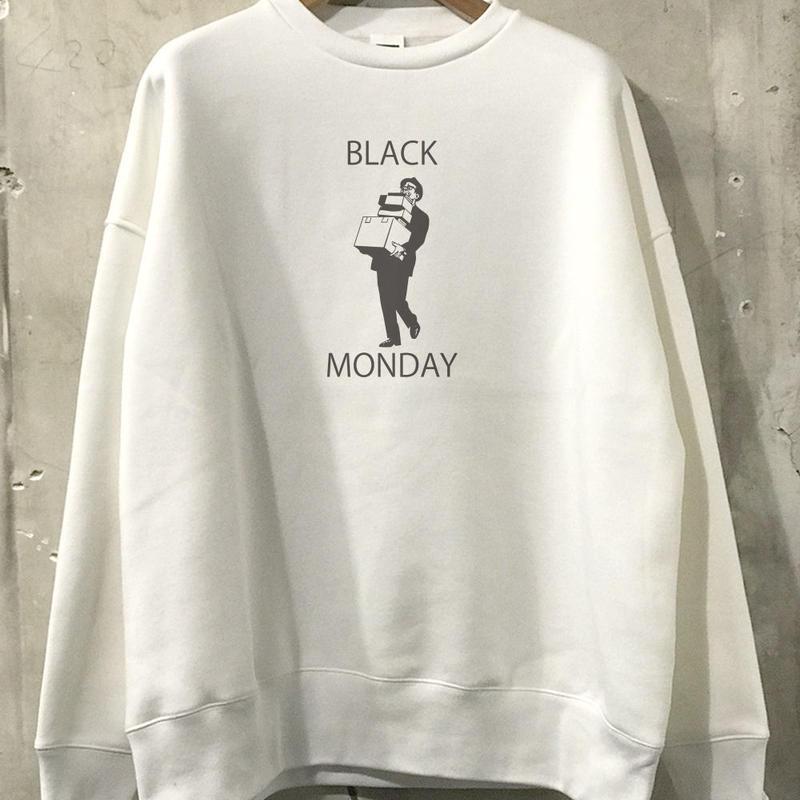"""【予約商品】OPSW05  Big Silhouette sweat  """"BLACK MONDAY"""""""