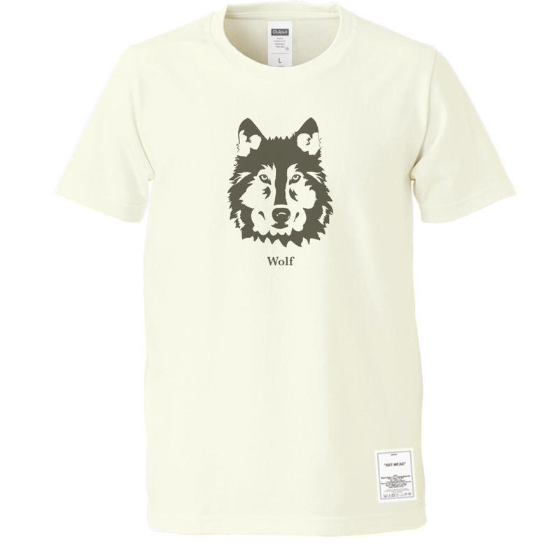 """OUTPUT Originals  OPPT59 """"Wolf"""" T-Shirt"""
