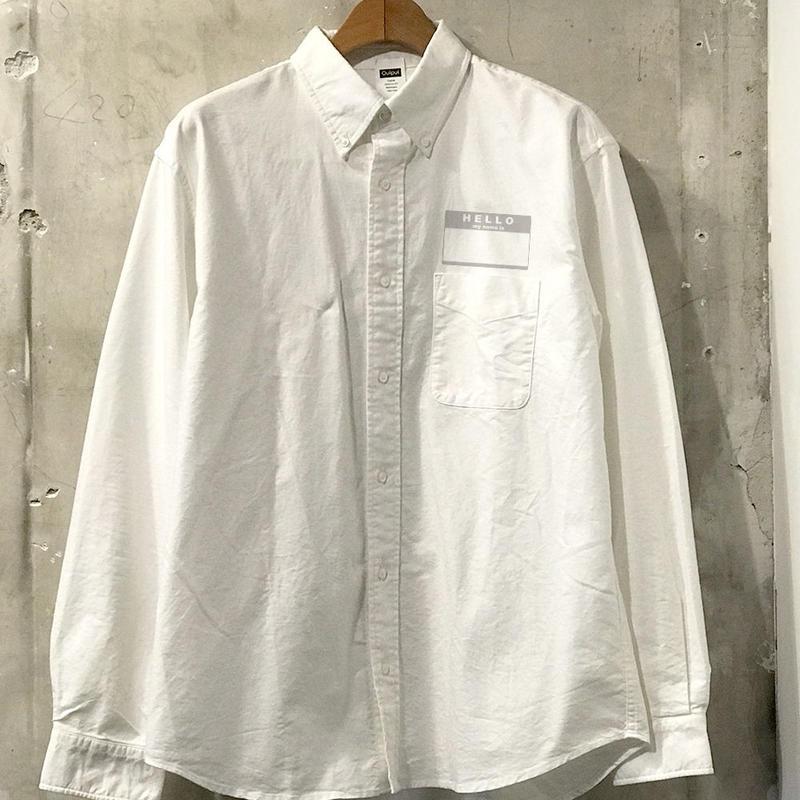 """【予約商品】OPSH02  """"FB ,BD Shirt """""""