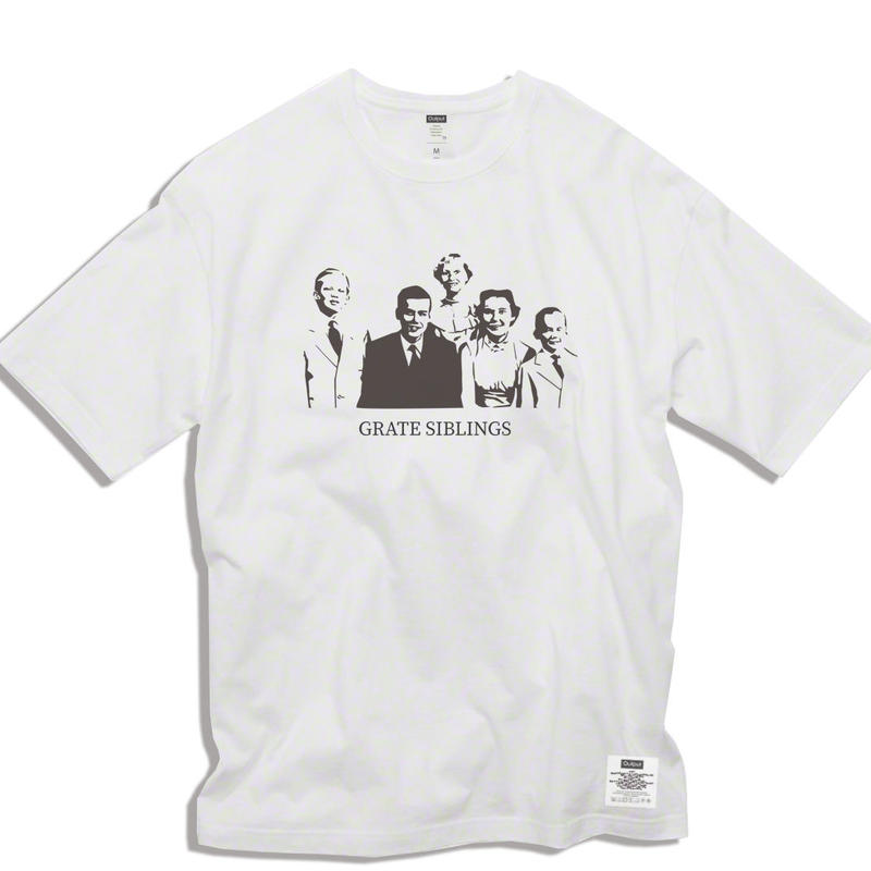 "【予約商品】OPPT69 Big Silhouette Graphic T-Shirt  ""GRATE SIBLINGS"""