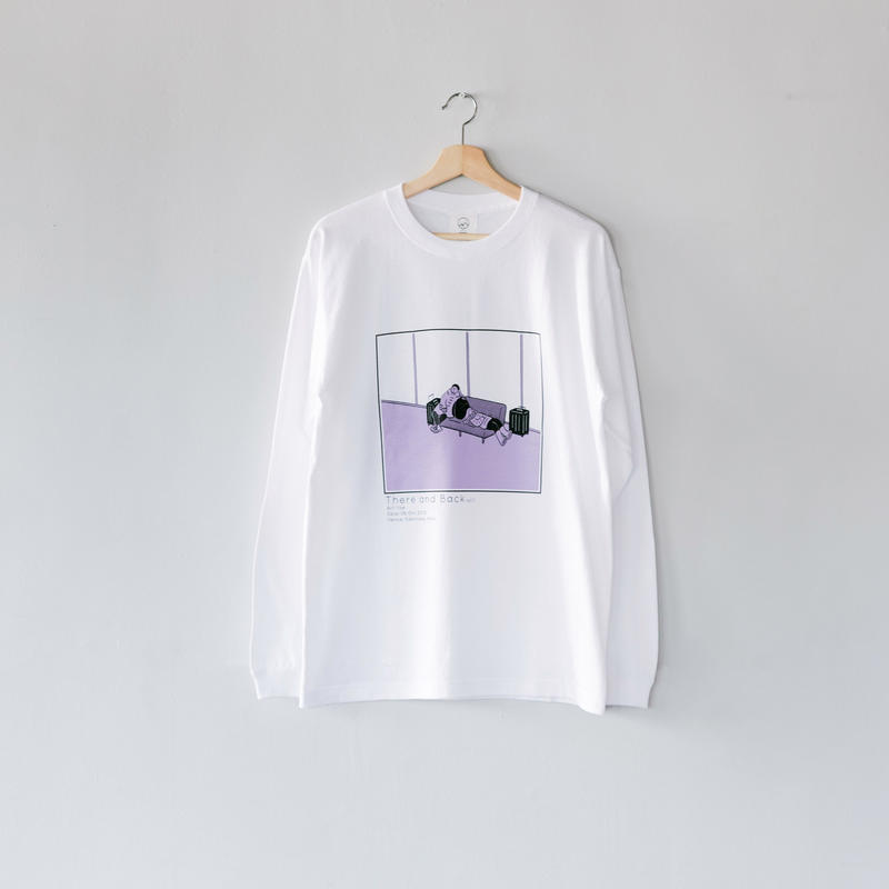 Long Sleeve Tee|There and Back|Saki Obata