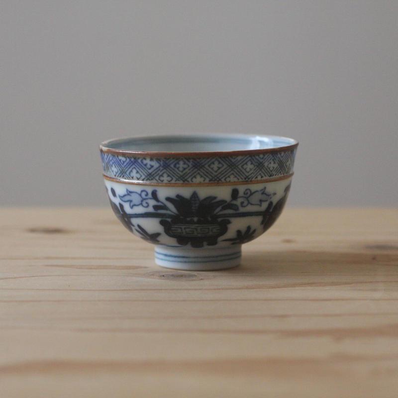 印判の茶碗