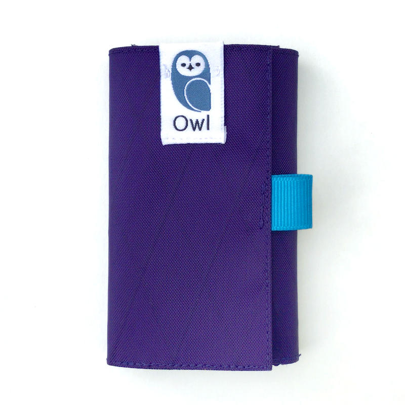 OWL X-Pac Kohaze Wallet (Deep Purple) 13.8g