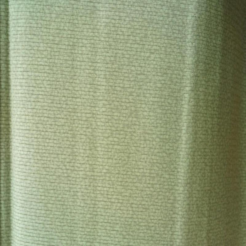 【夏・絽】若葉色系暈し小紋