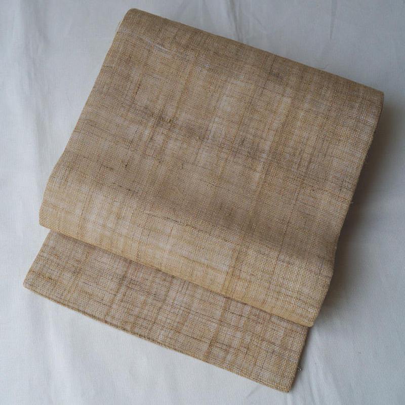 【夏・なごや帯】糸味のよい自然布なごや帯