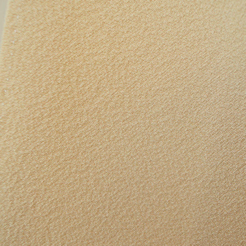 【袷】薄蜂蜜色・一つ紋・色無地