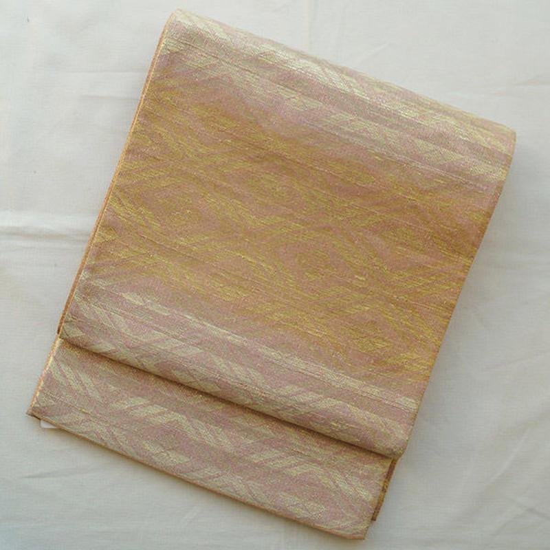 【ふくろ帯】桝屋高尾・撚金つづれ錦袋帯