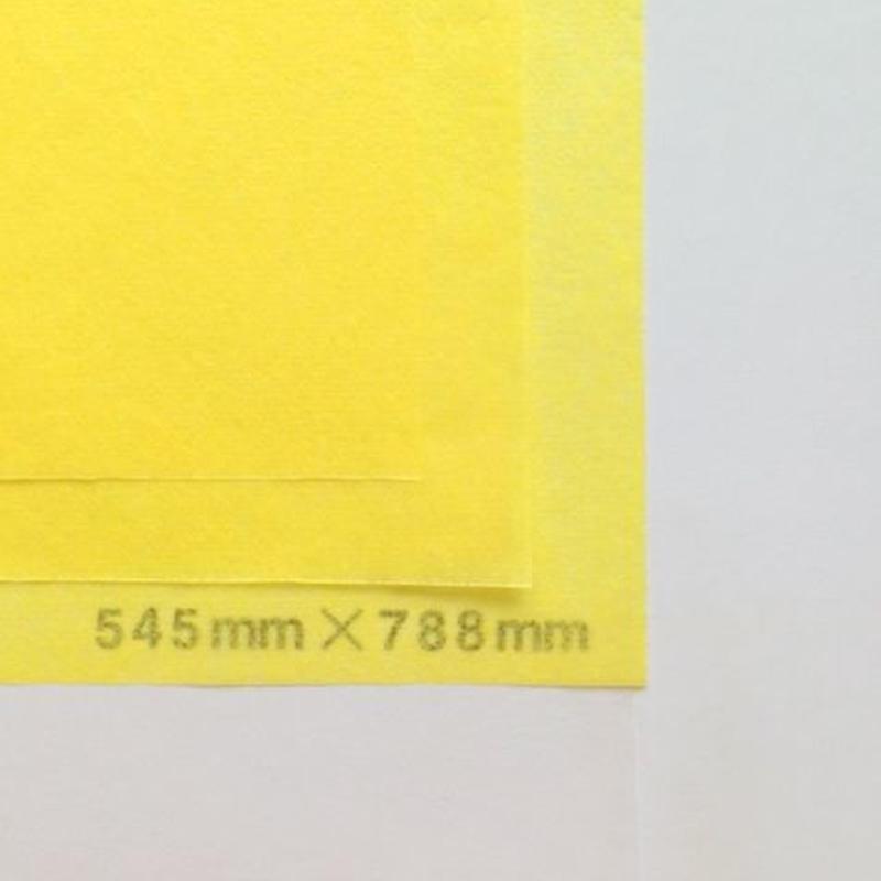 イエロー 14g   545mm × 394mm  400枚