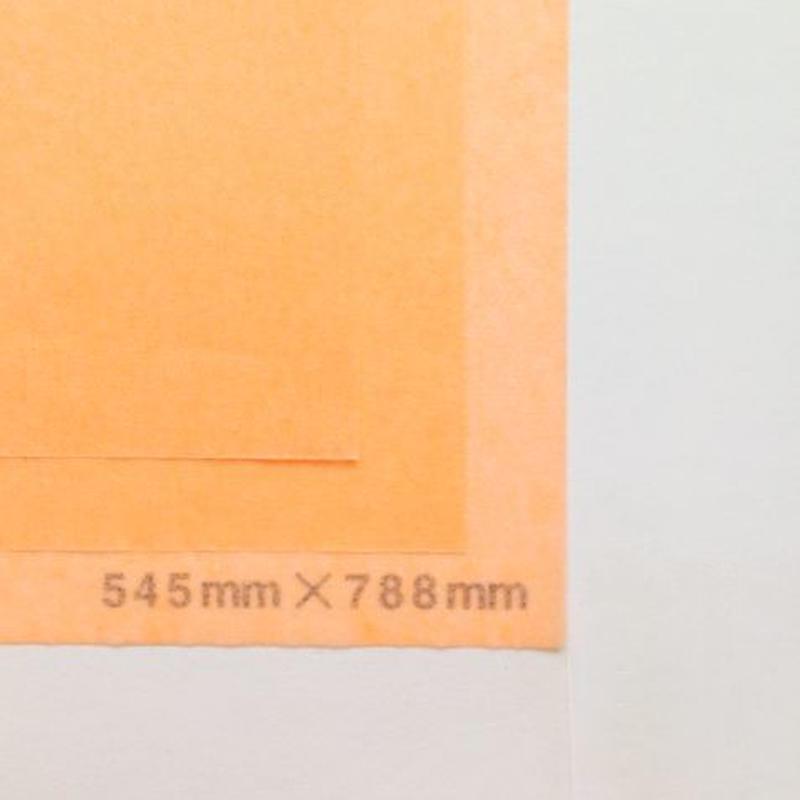 オレンジ 14g 545mm × 788mm 50枚
