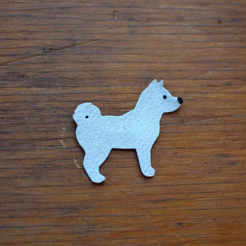動物ワッペン(ポーチ用) 柴犬 《単品購入はできません》