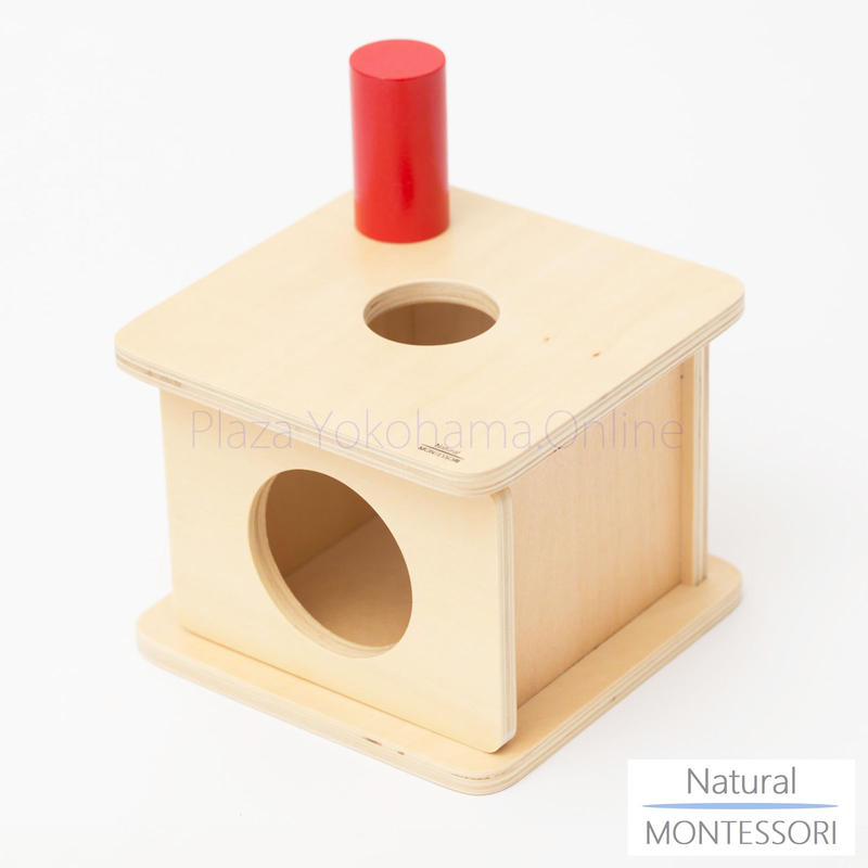 【Natural MONTESSORI】NM-B005 円柱落とし(small) ≪OUTLET≫