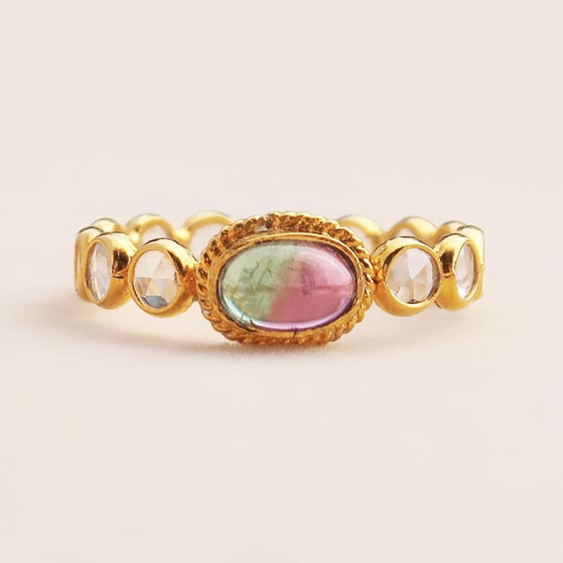 Pani Pani  { Ring }  watermelon tourmaline